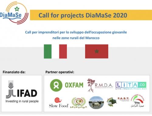 Call per imprenditori per lo sviluppo dell'occupazione giovanile nelle zone rurali del Marocco