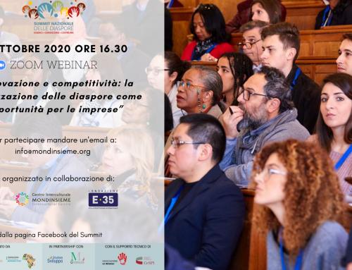 Innovazione e competitività: la valorizzazione delle diaspore come opportunità per le imprese› 9 ottobre 2020