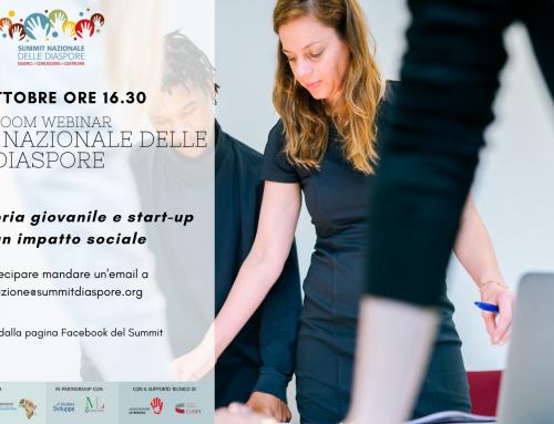 Imprenditoria giovanile e start-up per un impatto sociale- 19 ottobre 2020