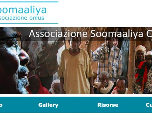 L'associazione Soomaaliya è ufficialmente iscritta nell'elenco AICS